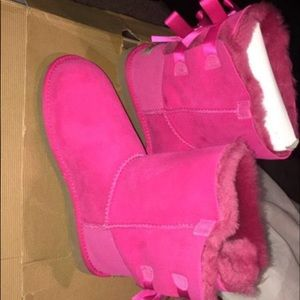 Brand new pink ugg boots